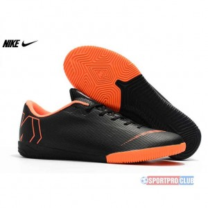 2018 FIFA World Cup Nike Mercurial VaporX XII Academy IC ナイキ ヴェイパー X XII アカデミー IC AH7383-081 Black/Total Orange/White ブラック×オレンジ Mens メンズ サッカースパイク