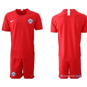 Chile home チリユニフォーム ホーム 半袖 レプリカ セット Chile home red blank red レッド 赤 mens メンズ サッカースパイク