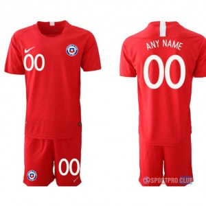Chile home print NO.name チリユニフォーム ホーム 半袖 レプリカ セット Chile home red 0 red レッド 赤 mens メンズ サッカースパイク
