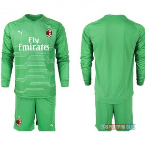 AC milan green goalkeeper long sleeve ACミラン 長袖 レプリカ セット ゴールキーパー jersey AC Long green Green グリーン 緑 mens メンズ サッカースパイク