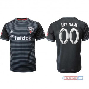 D.C. United home aaa version print NO. or name アディダスワシントン ホーム 半袖 レプリカ jersey DC Print Black ブラック 黑 mens メンズ サッカースパイク